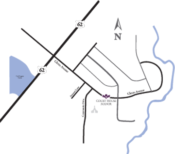 Court House Manor Map